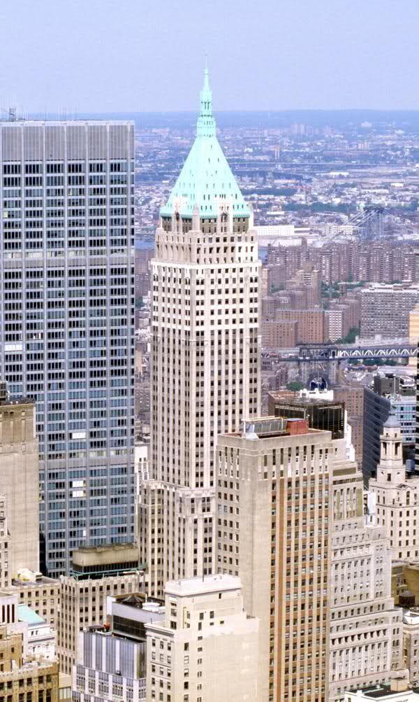 Trump Building 40 Wall Street New York New York City Buildings Building Unusual Buildings