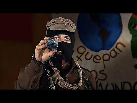 El Subcomandante Marcos descubre su rostro hacia el mundo - *Atención si un video está bloqueado en tu país añadirlo a tu browsner https://proxtube.com