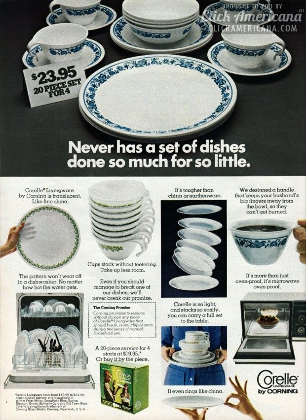 Vintage Corning Corelle Dishes From The 70s 80s Are Plates