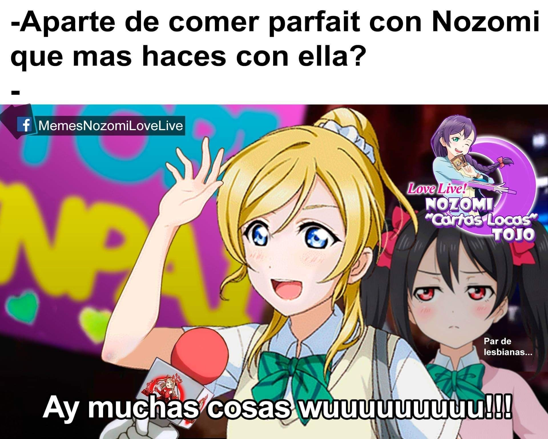 Memes De Love Live Sunshine 2 In 2021 Love Live Nozomi Memes Anime