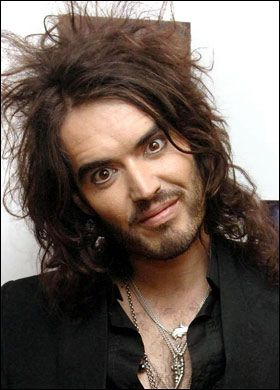 Image result for russell brand crazy face