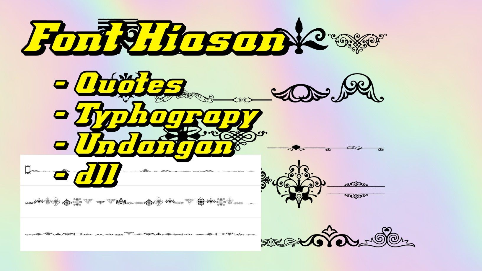Kumpulan Font Keren Untuk Hiasan Quotes Typhograpy Undangan Typography Quotes Typography Quotes
