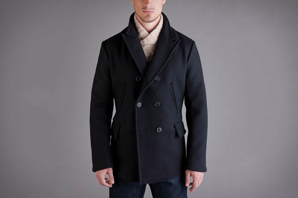 luxuriant in design unique design shop for best Billy Reid Bond Peacoat | Casual Wear | Billy reid, Dapper ...
