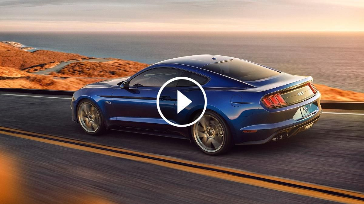 2018 ford mustang gt ecoboost horsepower and 0 60 times have finally been revealed
