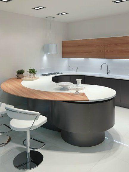 Oh Yeah!!!! Oak #kitchen DOMINA by Aster Cucine #interiors #minimal ...