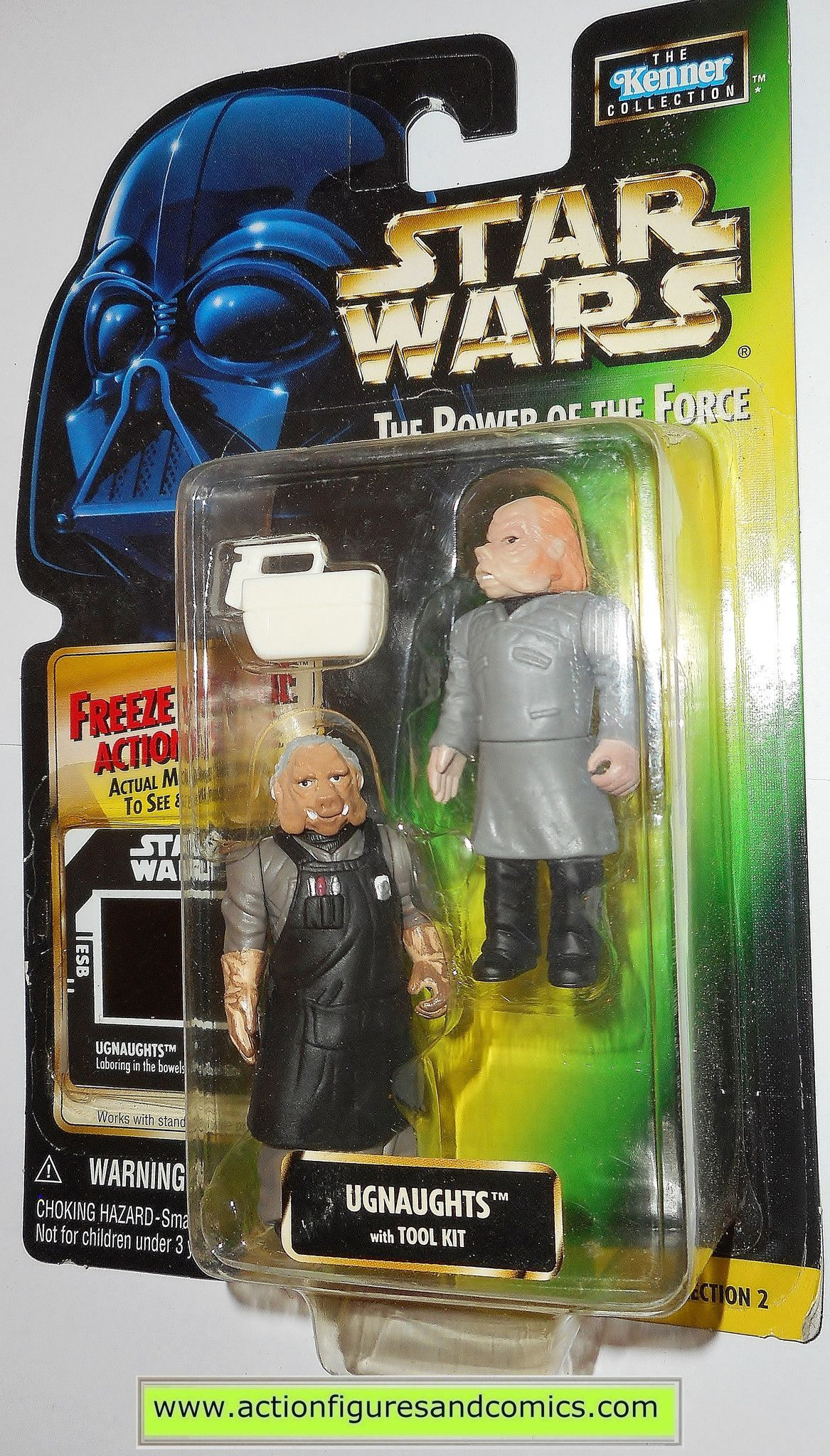star wars action figures UGNAUGHTS power of the force hasbro toys
