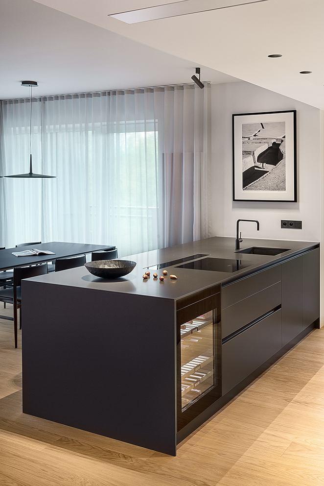 Otwarta Przestrzen Kuchenna Sprzyja Spotkaniom Z Bliskimi Interior Design Kitchen Modern Kitchen Design Kitchen Design