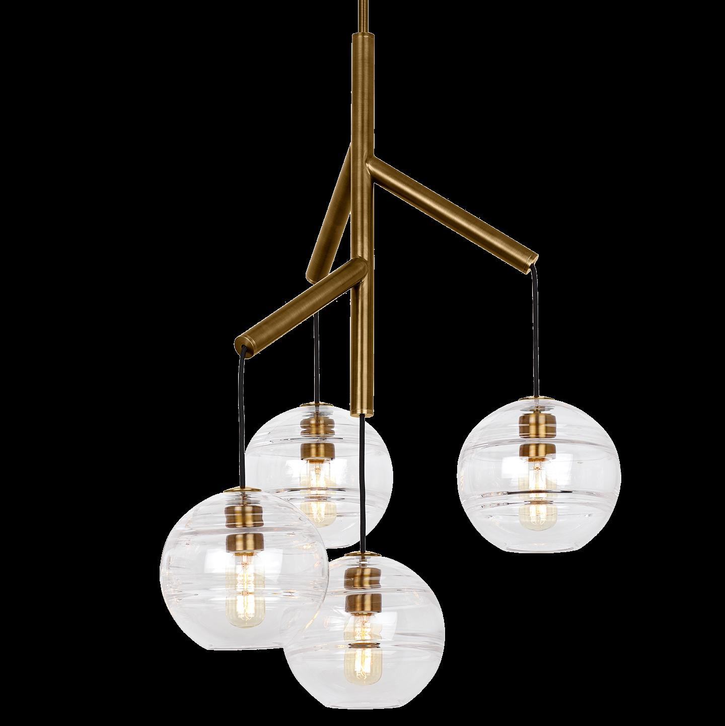 Sedona Single Chandelier Modern ceiling light, Tech