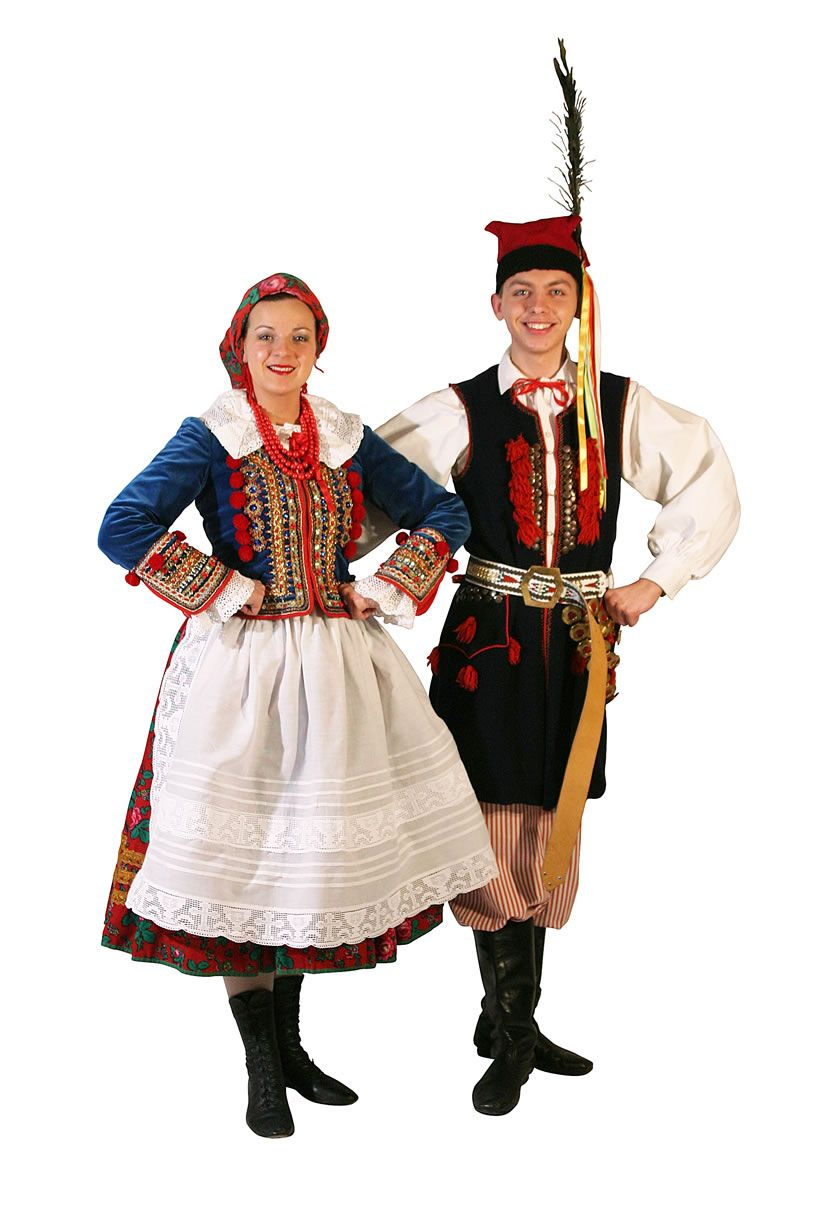 Cracow Poland Traditional Outfits Russian Clothing Historical Clothing