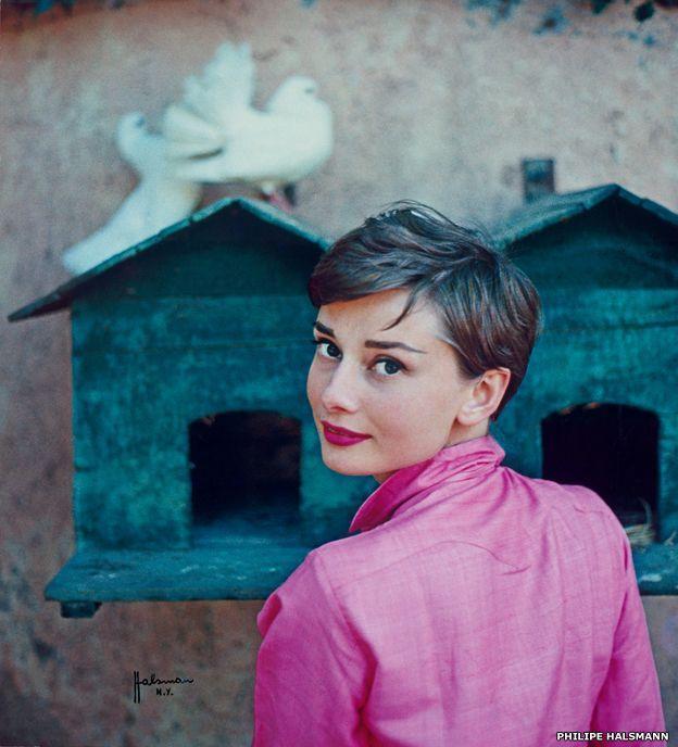 Audrey Hepburn by Philippe Halsman for LIFE magazine, 1954 ©Philipe Halsman