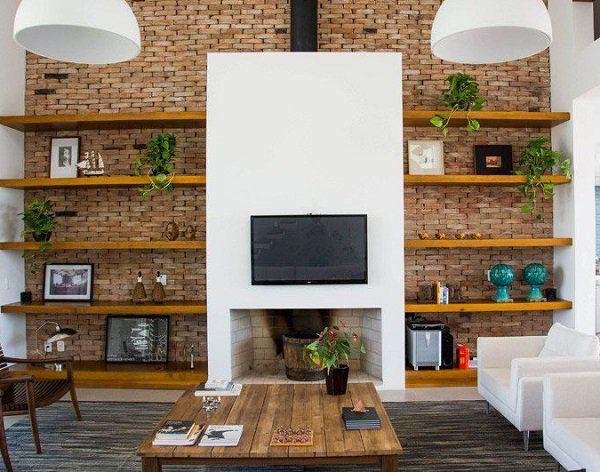 50 inspirational tv wall ideas