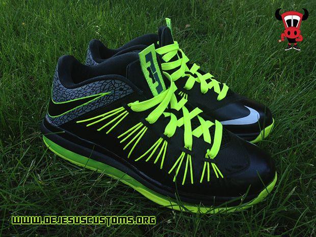 bad08800c42 Nike Air Max LeBron X Low 112 Custom