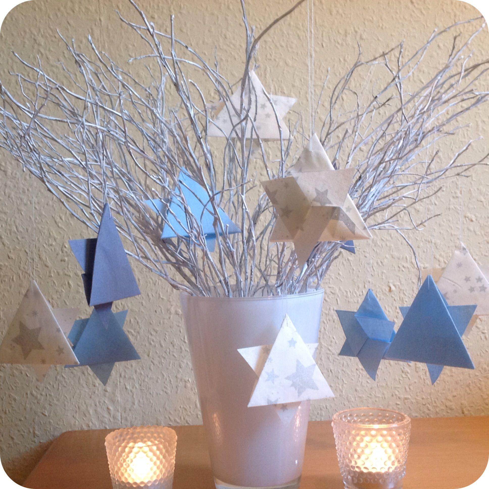 Mein Stern, der hat drei Ecken - oder - Welcome to Christmas-Time