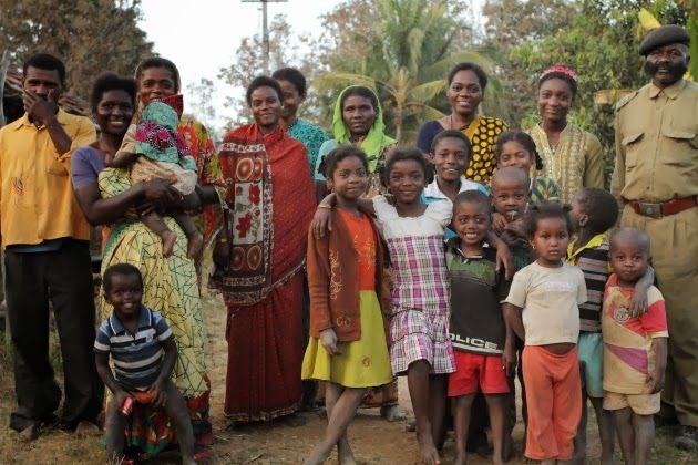 Members of the Siddi tribe from near Dandeli