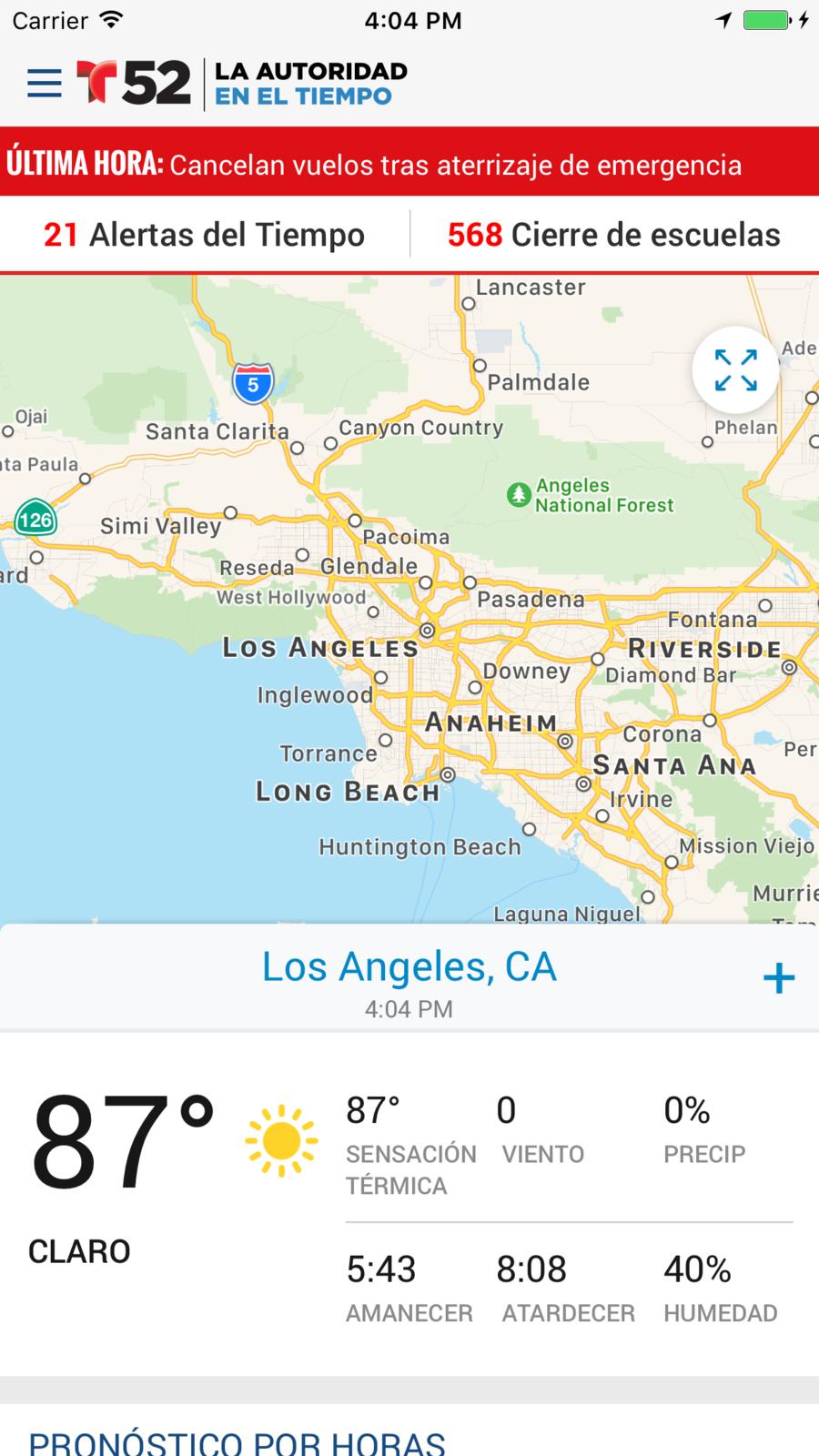 Telemundo 52 WeatherNewsappsios News apps, Southern