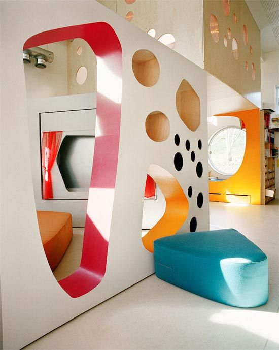 Bright New Kindergarten Experiments in Tromso by 70°N Arkitektur1
