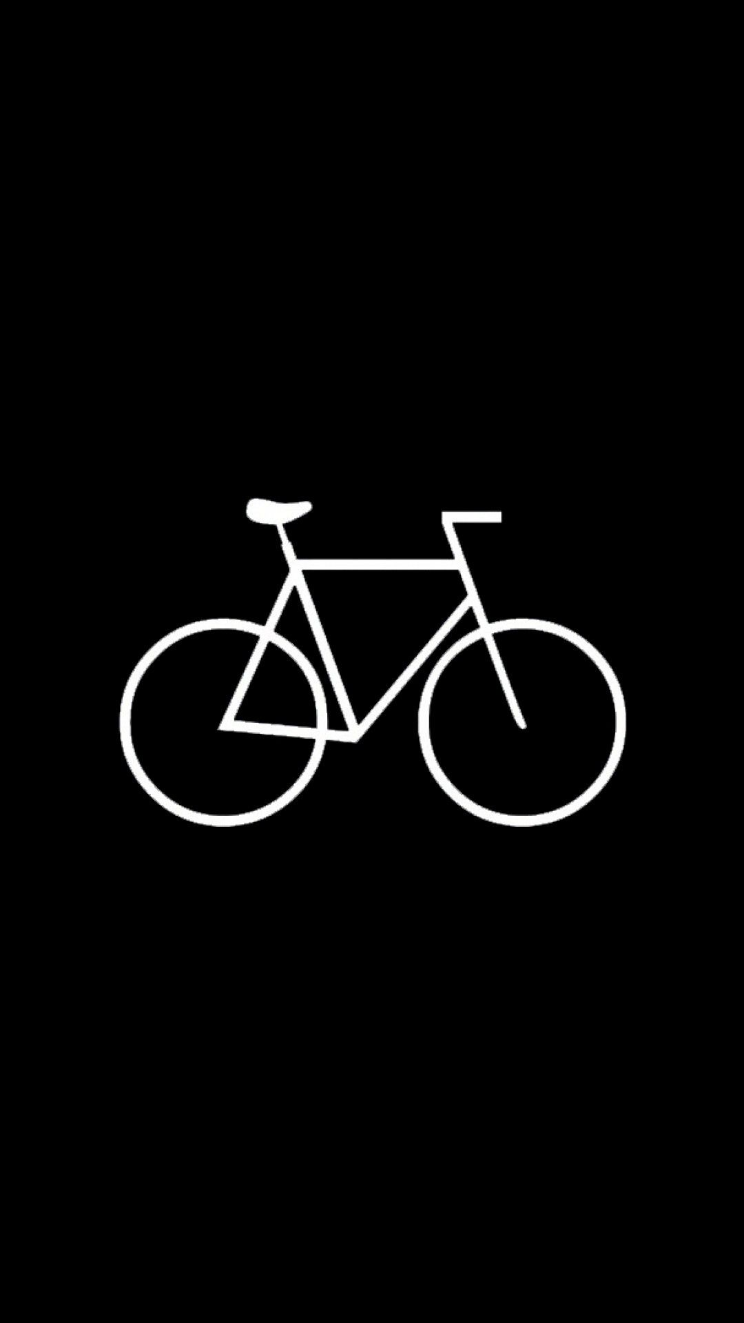 Cars Bikes Iphone 6 Plus Wallpapers Flat Simple Bicycle