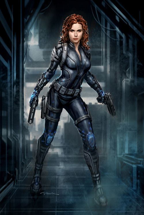"""""""Black Widow"""" by Andy Park"""