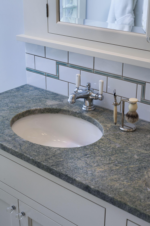 Bathroom Remodel Lever Faucet Undermount Sink Granite Counter Top Subway Tile Bathrooms Remodel Bathroom Undermount Sink