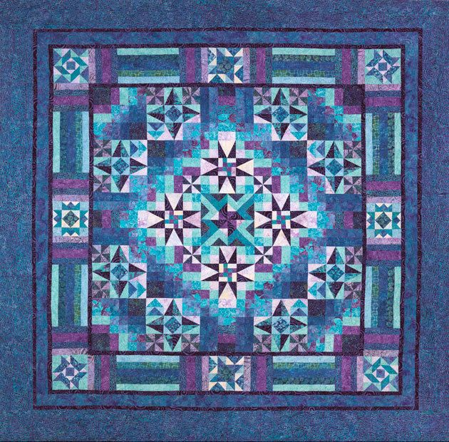 Mystical Prism Block of the Month - Pine Tree Quilt Shop ... : pinetree quilt shop - Adamdwight.com