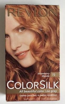 revlon colorsilk strawberry blonde