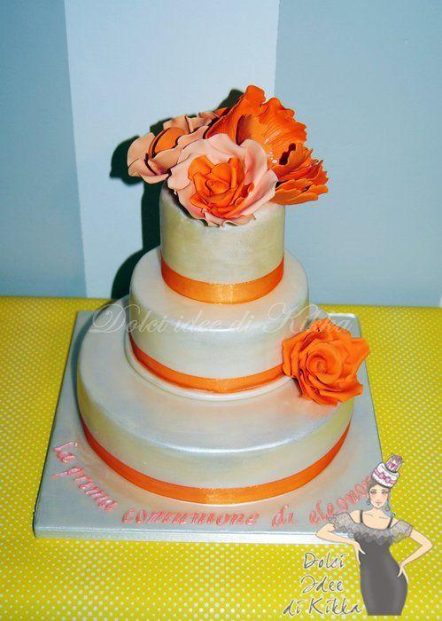 wedding cake - by DolciIdeediKikka @ CakesDecor.com - cake decorating website