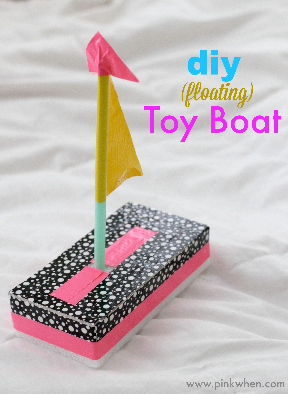 Diy Toy Boat Quick Fun Crafts Kid Crafts Voyage
