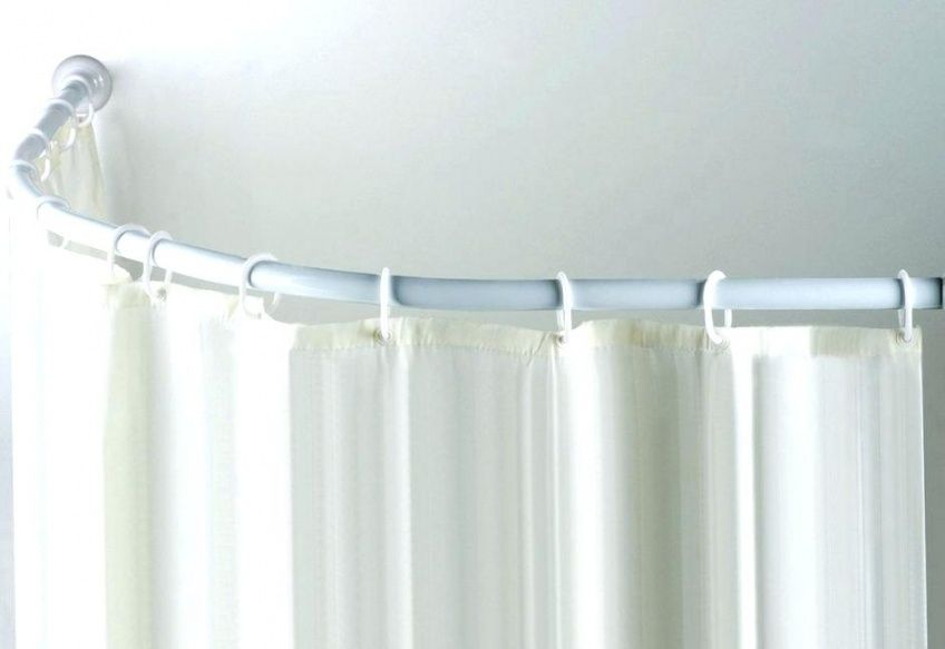 8 Good Shower Curtain Rod Mounting Brackets With Screws Pics