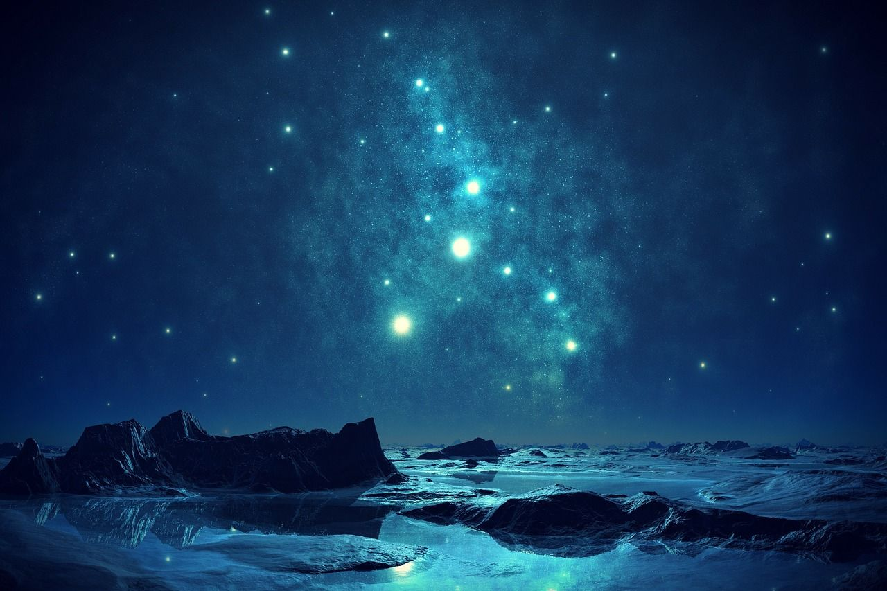 How law of attraction works? Night skies, Sky, Evening