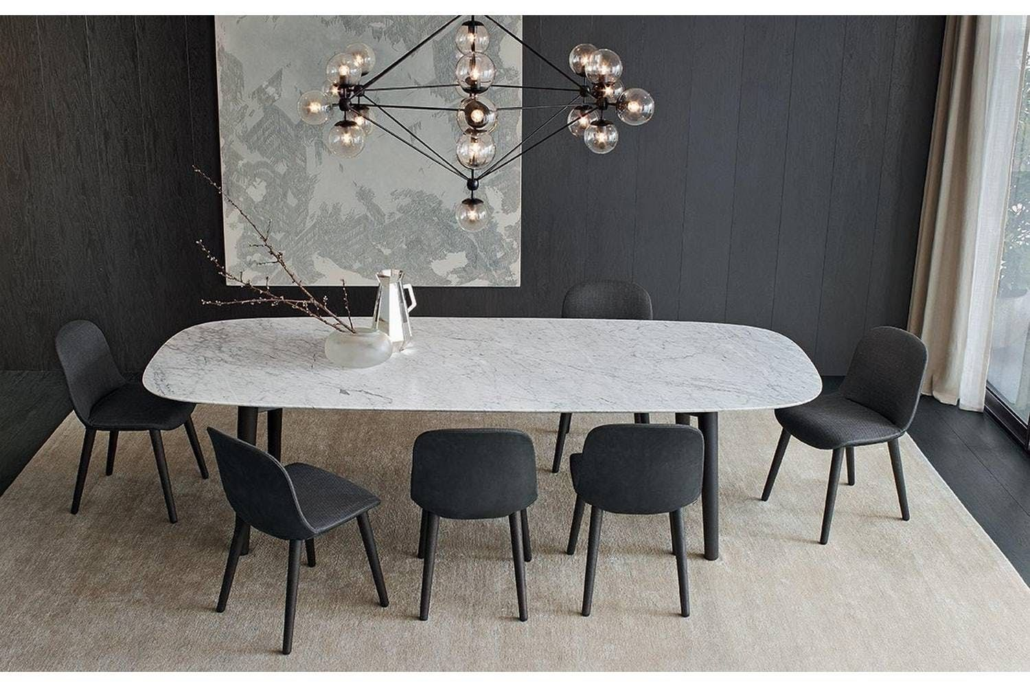 Interior Design Ideas For A Glamorous Dining Room Dining Table Marble Dining Room Design Modern Modern Dining Room