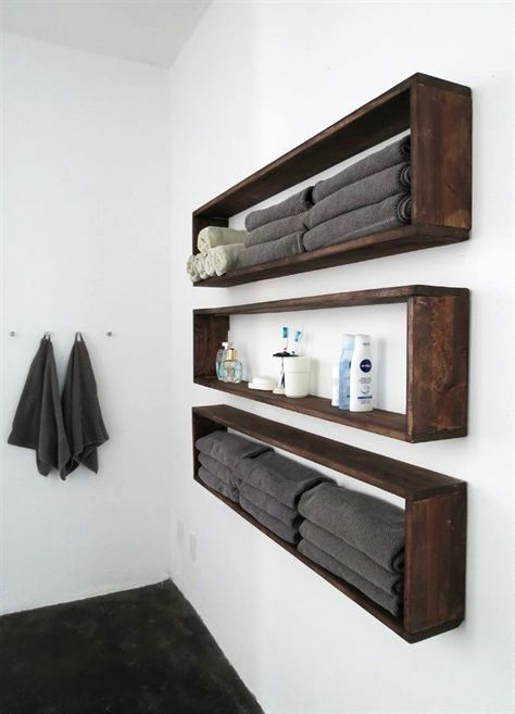 49 Lovely Diy Bathroom Organisation Shelves Ideas. - ROUNDECOR
