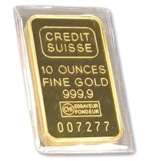 Gold 10 Oz Credit Suisse Bar Credit Suisse Gold Coin Price Gold Investments