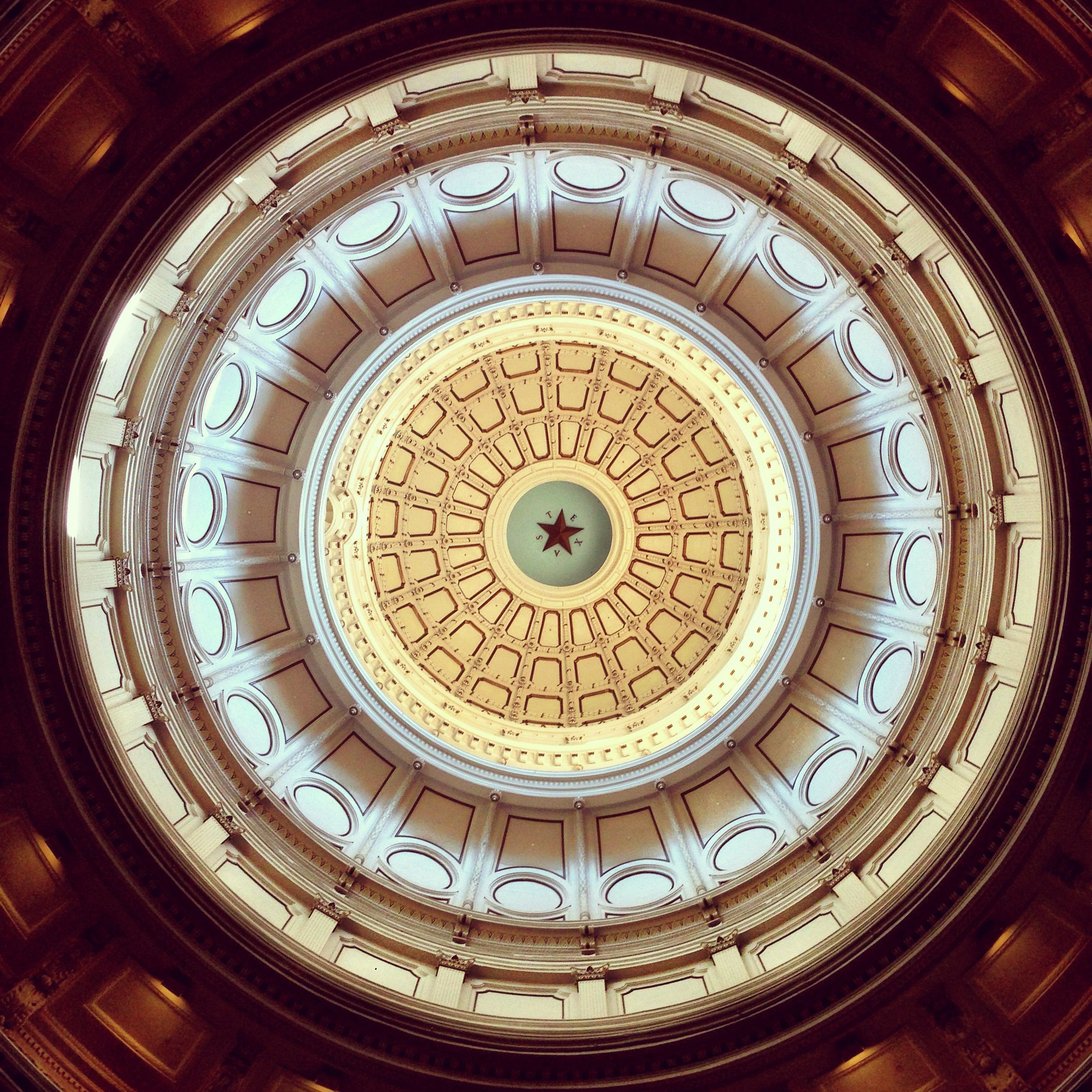 Looking Up at The State Capitol