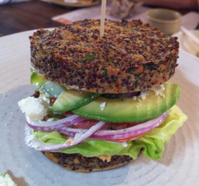 True Food Kitchen Burger True Food Kitchen In Catry To Recreate Thisinside Out Quinoa