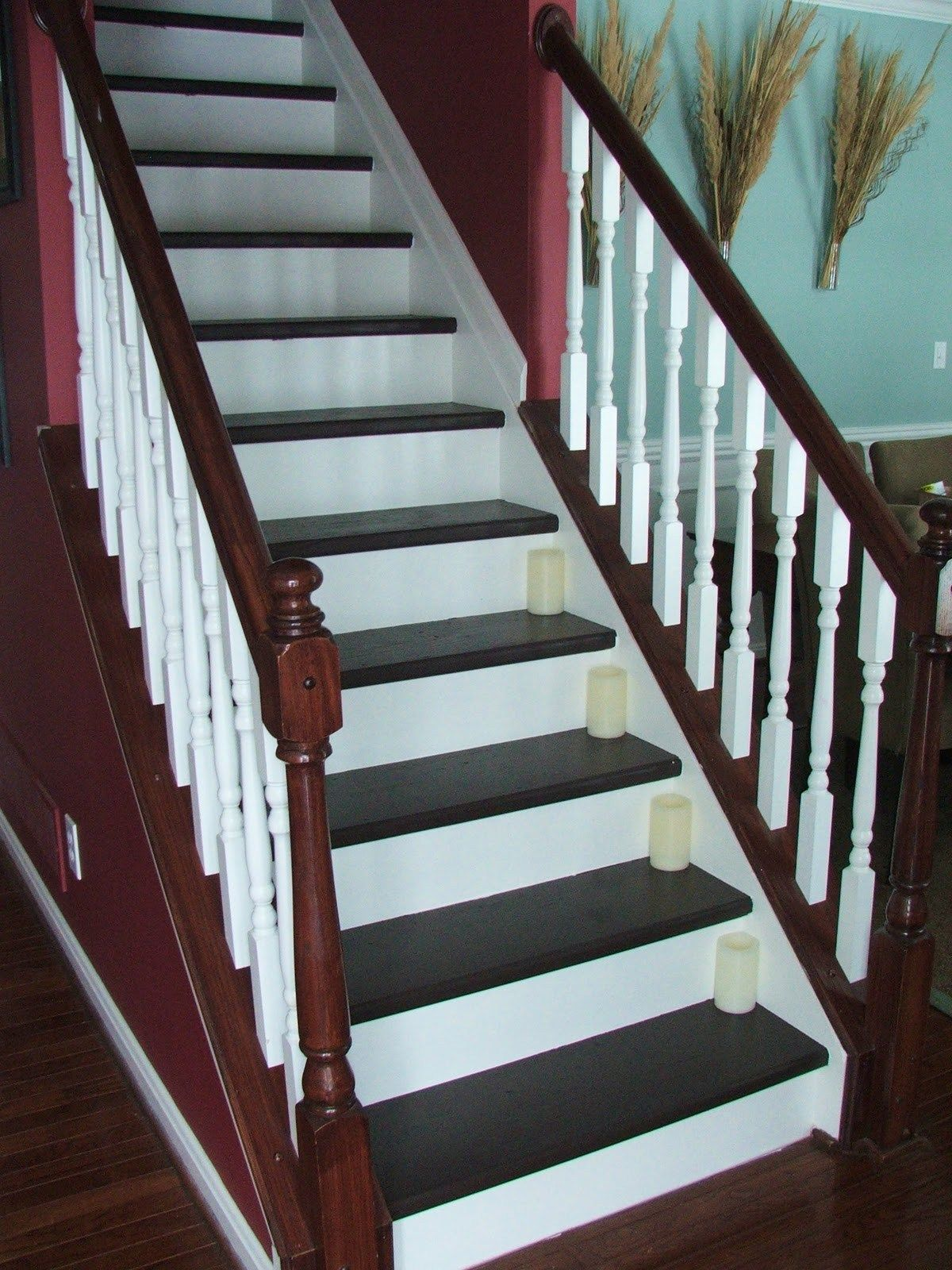 Best 33 How To Update Your Staircase For Less Than 100 Carpet 400 x 300