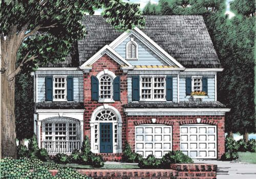 Yarmouth home plans and house plans by frank betz for Frank betz homes for sale