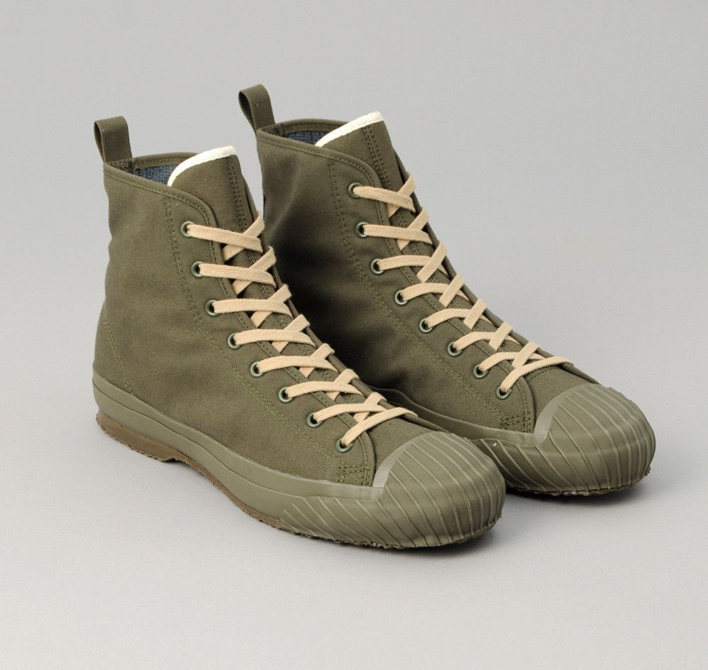 56ca96d922 Ventile All-Weather High Top Sneakers, Olive Drab | Shoe love ...