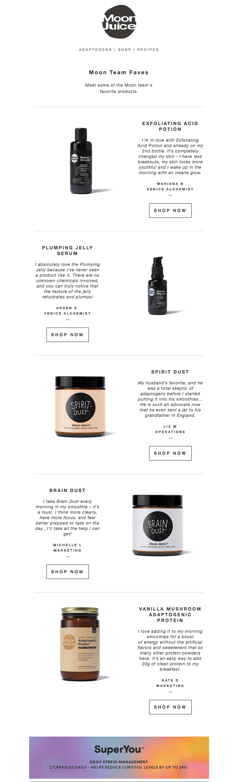 Skin Care Industry Emails With Stunning Designs Email Design Email Design Skin Care Skin