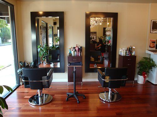 Studio 15 - Styling Area, With Wall Mounted Stations Featuring The ...