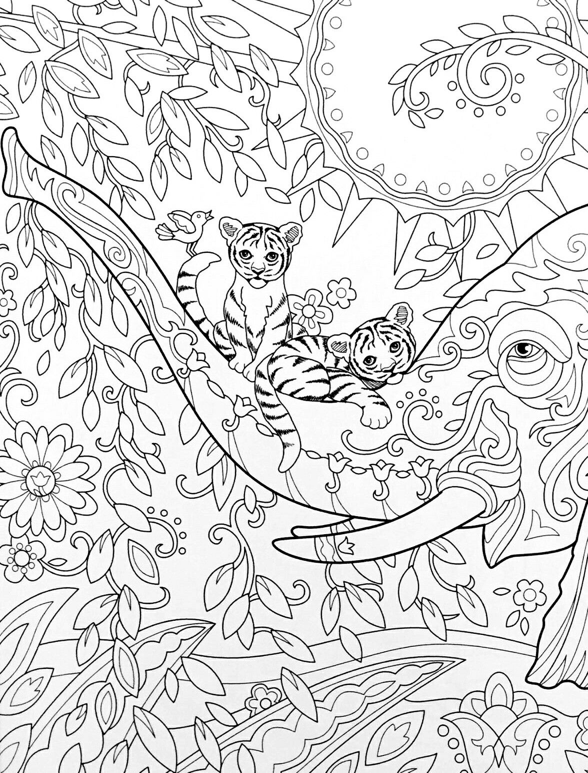 coloring pages for lamp shades adult coloring lovelies