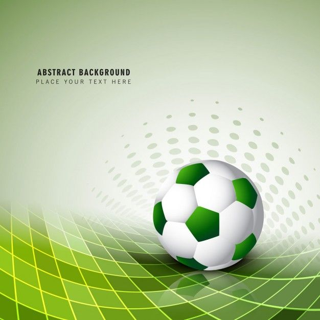 0497daa237b7d Fondo verde de fútbol Vector Gratis