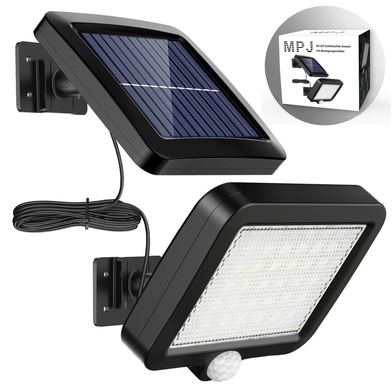 Solarlampen Fur Aussen Mpj 56 Led Solarleuchte Aussen Mit Bewegungsmelder 120 Beleuchtungswinkel Ip65 Wasserdichte Solar Wandleucht In 2020 Electronic Products Phone