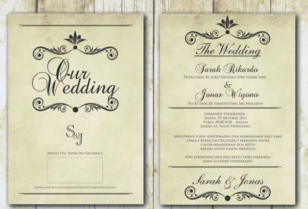 Background Undangan Pernikahan Vintage Background Undangan In 2020 Wedding Invitation Layout Electronic Invitations Wedding Invitation Background