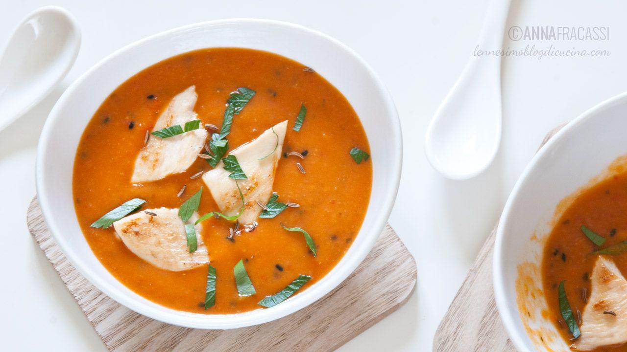 Partendo dalla ricetta del curry indiano di gamberi, ho preparato una versione di pollo, da gustare calda o tiepida. Il mio comfort food preferito. ©AnnaFracassi