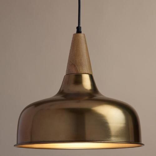 metallic pendant lighting design discoveries. Lighting Discoveries At WorldMarket --\u003e For Master Bedroom On Side Of Bed: Brass · Pendant LightPendant Lights Metallic Design A
