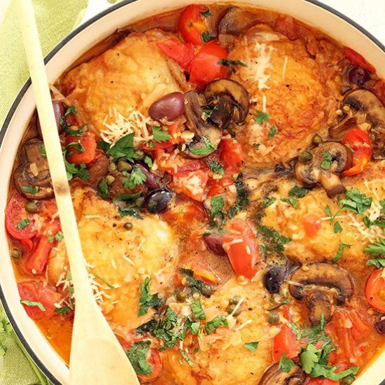 This Tasty One Pan Italian Chicken Dish Fis A Quick And Easy Chicken