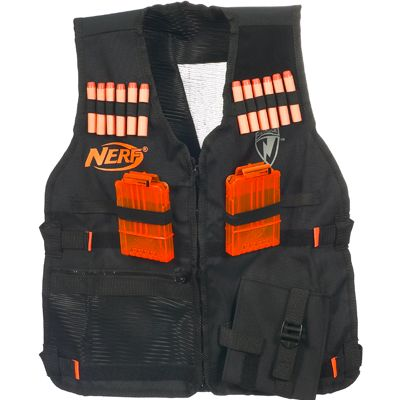 NERF N-STRIKE Tactical Vest Kit | Parts & Refills for ages 6 & Up | Hasbro $30