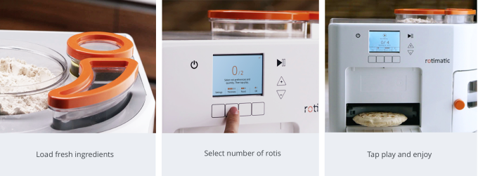I for one welcome our new robotic roti-making overlords