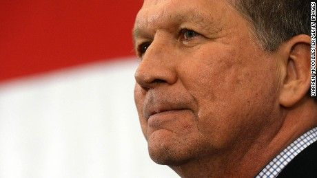 "Ohio Gov. John Kasich said Sunday that the likelihood he'll enter the race for the Republican presidential nomination ""looks pretty good."""
