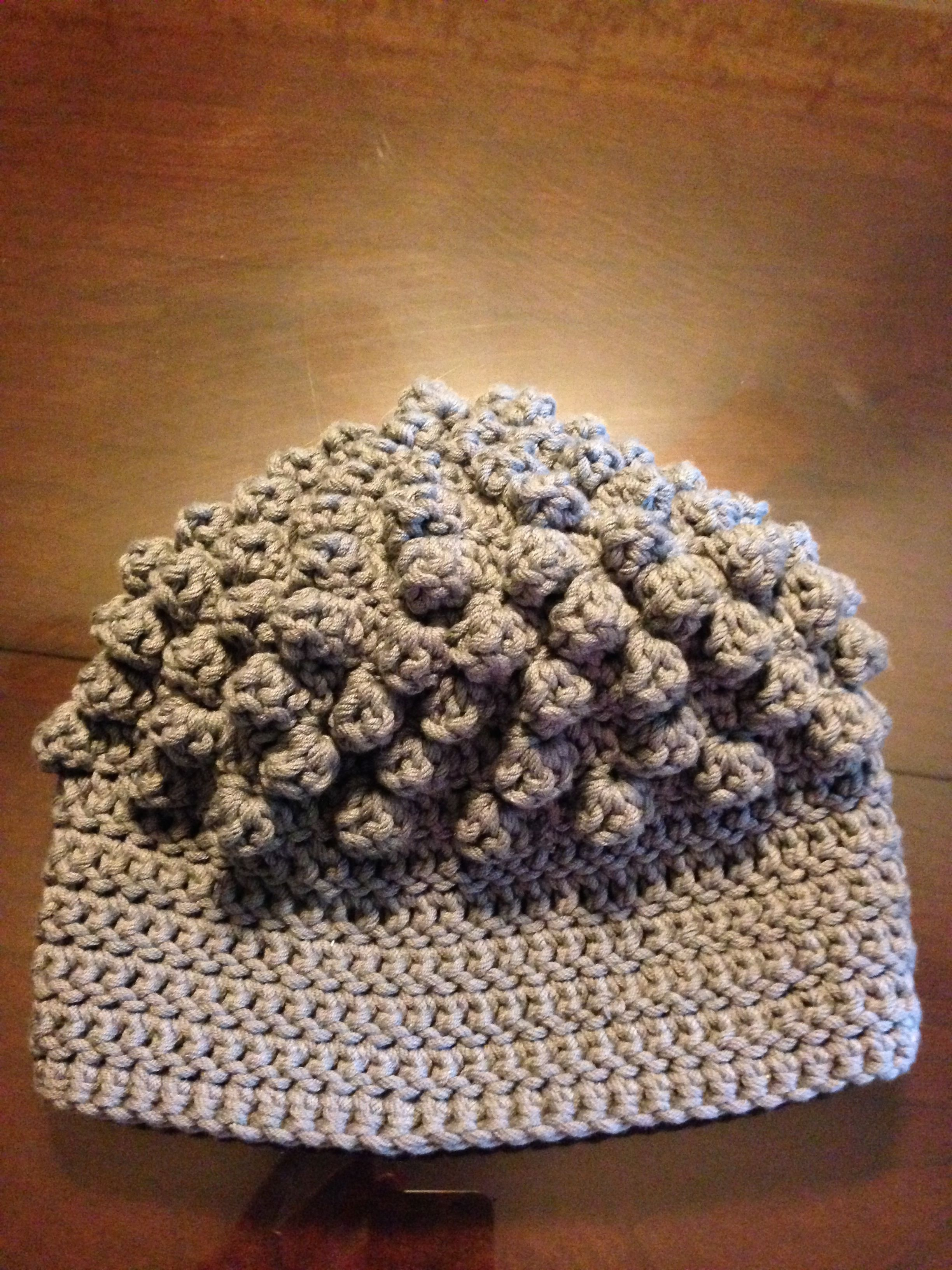 Hat I crocheted for my daughter, Heather